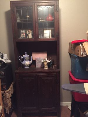 Antique cabinet for Sale in Houston, TX