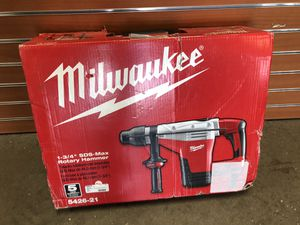 "Milwaukee 5426-21 1-3/4"" SDS MAX ROTARY HAMMER #6927-1 for Sale in Revere, MA"