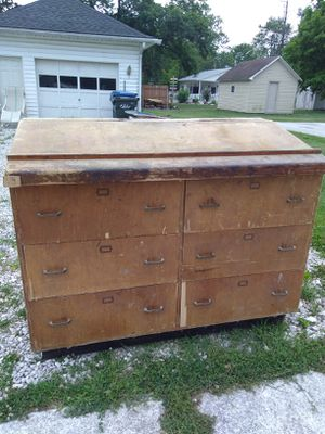 Drafting table/cabinet for Sale in Oak Harbor, OH
