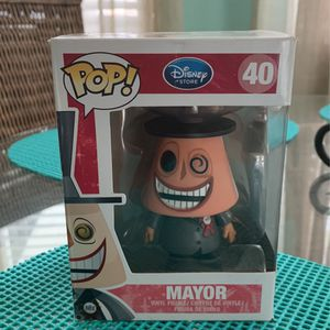 MAYOR #40 Funko POP! THE NIGHTMARE BEFORE CHRISTMAS for Sale in Kissimmee, FL