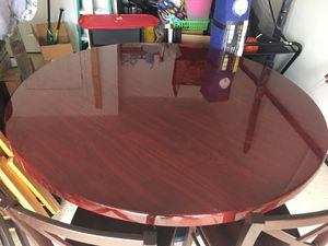 Beautiful Dark Cherry Restaurant style Dining Table. for Sale in Clermont, FL