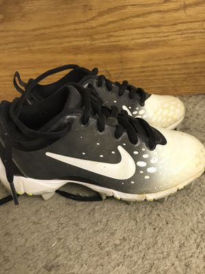 Size 12c boys shoes. Baseball cleats, soccer cleats, under armour tennis shoes and Nike tennis shoes for Sale in Seaford, DE