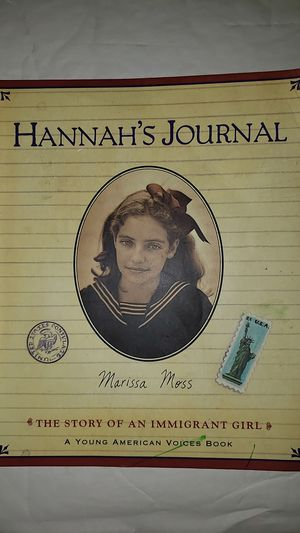 Hannah's Journal By Marissa Moss for Sale in Burlington, VT
