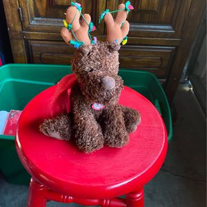 "12"" Musical Reindeer Plushy for Sale in Santa Rosa, CA"