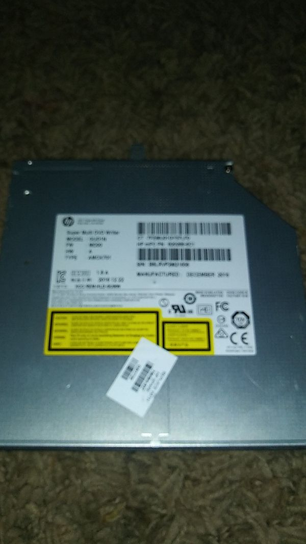 Hp laptop dvd player