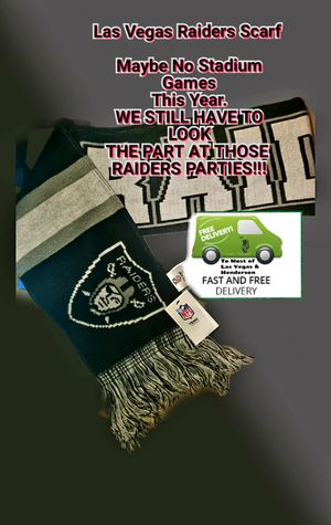 Las Vegas Raiders Scarf for Sale in Henderson, NV