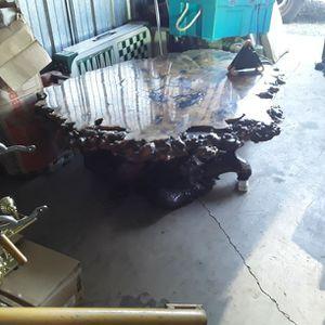 Buckeye Burl Table for Sale in Knightsen, CA