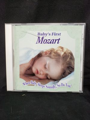 Baby's first Mozart cd. 10 songs for Sale in Zanesville, OH