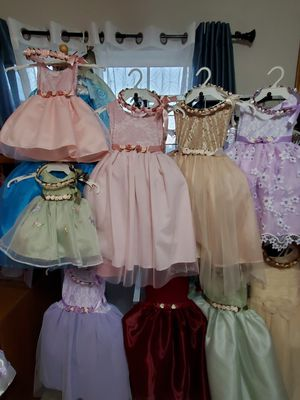 Girl Dress/ Event Dress/ Flower Girl Dress/ 2 FOR $25 for Sale in Ontario, CA