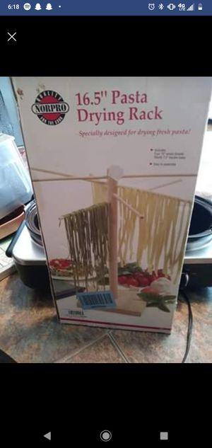 Pasta maker, ravioli mold, drying rack for Sale in Naugatuck, CT