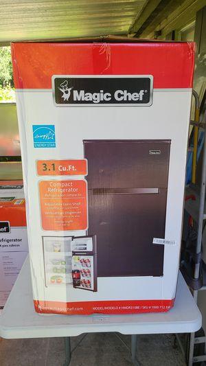 Brand new black 3.1 ft³ refrigerator freezer for Sale in Brooksville, FL
