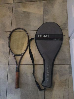 Head Composite Mid Plus Pro TX series tennis racket and case for Sale in Gaithersburg, MD