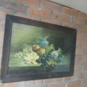 Antique Fruit Print for Sale in Alexandria, VA