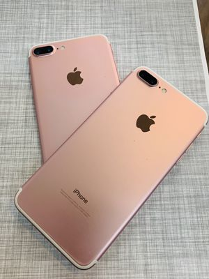 Factory unlocked iphone 7 plus 32gb excellent condition with warranty for Sale in Arlington, MA