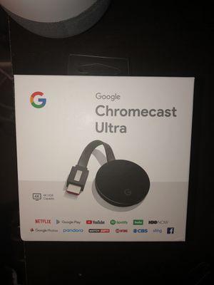 Google Chromecast Ultra for Sale in New Castle, DE