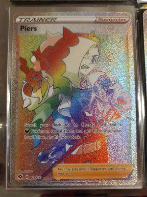 Piers Rainbow Rare Trainer Card. Pokemon Champions Path for Sale in Everett, WA