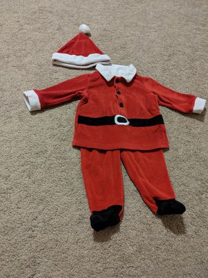 Christmas santa baby costume 9 - 12 months for Sale in Shawnee Hills, OH