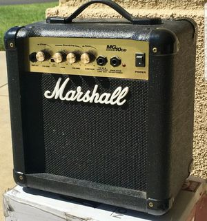 Marshall MG10CD Series Practice Guitar Amp 40 Watt - Working for Sale in Deerfield Beach, FL