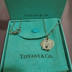 Tiffany &Co Pendent And Silver Neckless for Sale in San Jacinto, CA