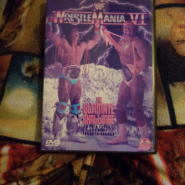 Wrestlemania VI Dvd