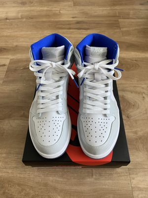 Air Jordan Retro 1 High Zoom 'White Racer Blue' Size 8.5 for Sale in Kent, WA