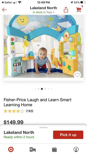 Fisher Price Laugh and Learn Smart Learning Home for Sale in Auburndale, FL