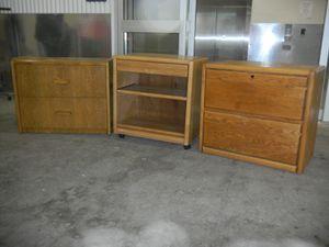 3- oak dressers for Sale in Denver, CO