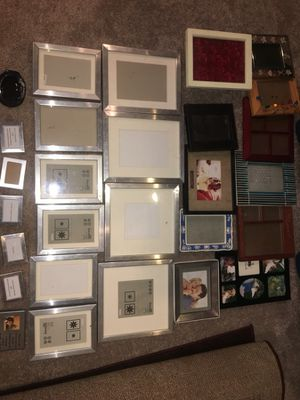 Assorted photo frames (28) for Sale in Odenton, MD