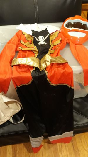 FREE Red POWER Ranger Costume size 7 for Sale in Los Angeles, CA