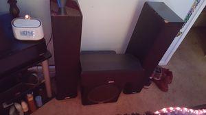 POLK AUDIO HOME THEATER SURROUND SOUND SPEAKERS for Sale in Sacramento, CA