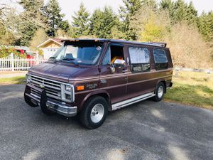 1991 g 20 Chevy conversion van for Sale in Tacoma, WA