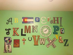 Kids wall art alphabet for Sale in Denver, CO