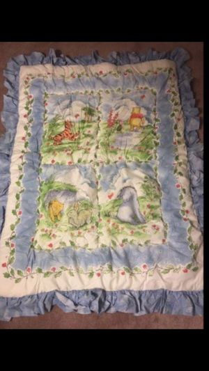 Baby bedding set - Classic Winnie the Pooh for Sale in Chino Hills, CA