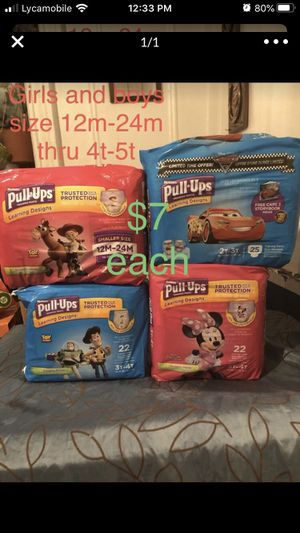 Huggies and Pampers $7 each for Sale in The Bronx, NY