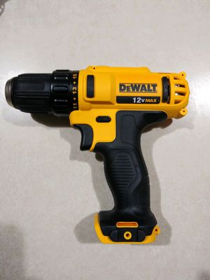 "DeWalt 12 Volt 3/8"" Drill Driver (TOOL ONLY) for Sale in Tacoma, WA"