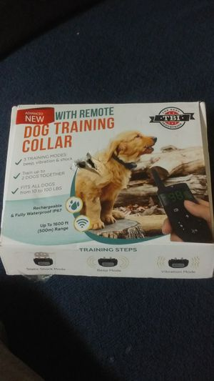 TBI remote dog training collar for Sale in Los Angeles, CA