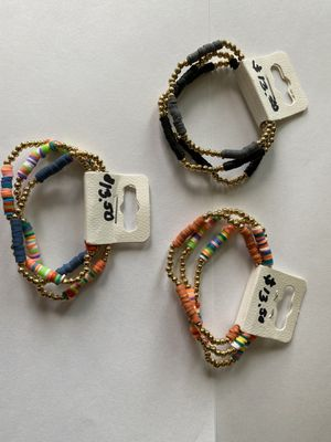 Hand made bracelets. Variety of colors and prices for Sale in Spring, TX