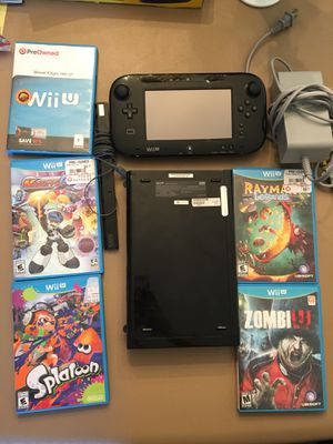 Wii U Bundle for Sale in Elgin, IL