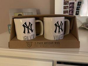 New York Yankees coffee mugs for Sale in Bristow, VA