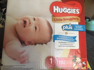Huggies diapers size 1 for Sale in Emeryville, CA