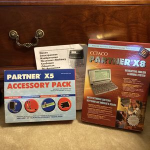 Ectaco Partner X8 Tutor Engl./Russian Talk. Translator System for Sale in Camp Hill, PA
