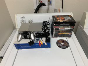 Ps2 game system including games for Sale in San Diego, CA