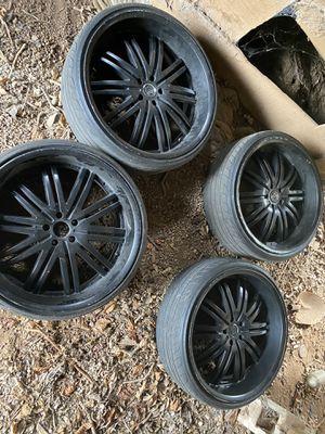24' rims & tires for Sale in Bessemer, AL