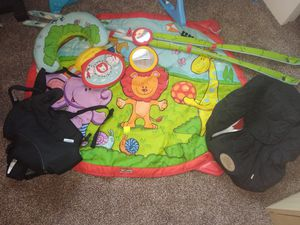 Baby Play Mat, Carrier and Car seat cover for Sale in Las Vegas, NV