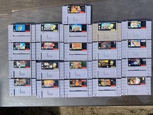 SNES games Super Nintendo video games for Sale in Los Angeles, CA