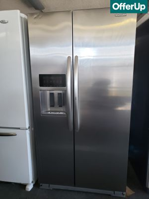 😍😍Side by Side Refrigerator Fridge Kitchenaid Stainless Steel #1108😍😍 for Sale in San Bernardino, CA