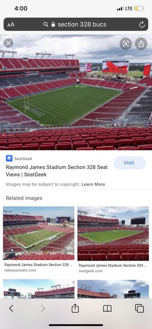Bucs season tickets for Sale in Tampa, FL