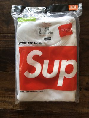 Supreme TAGLESS tanks size MMM (3 pack) for Sale in West Covina, CA