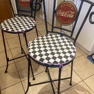 Vintage Coca Cola Bar Stools for Sale in Clermont, FL