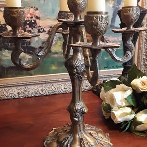 Vintage Brass Candelabra for Sale in Greensboro, NC